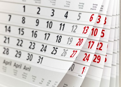 Pick a date for your upcoming school calendar