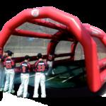 Batting Cage w/ Pitching Machine