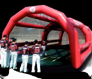 Batting Cage & Pitching Machine