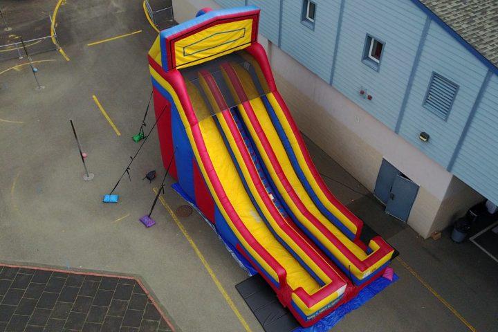 24' Modular Dual Lane Slide