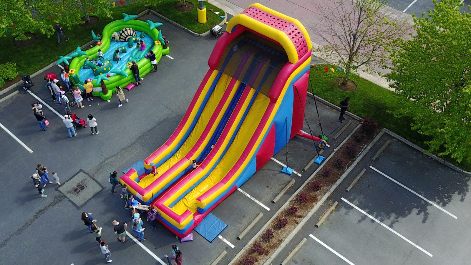 24′ Dual Lane Slide