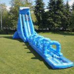 100′ Long Blue Crush Xtreme Water Slide