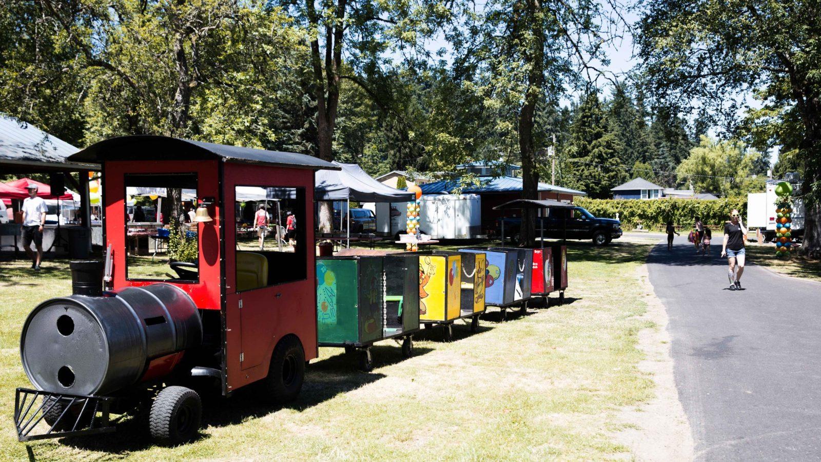 Mini Trackless Train Rental National Event Pros