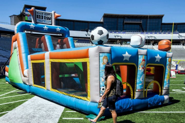 Sports Arena Obstacle Course