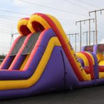 50′ Zip It Obstacle Course