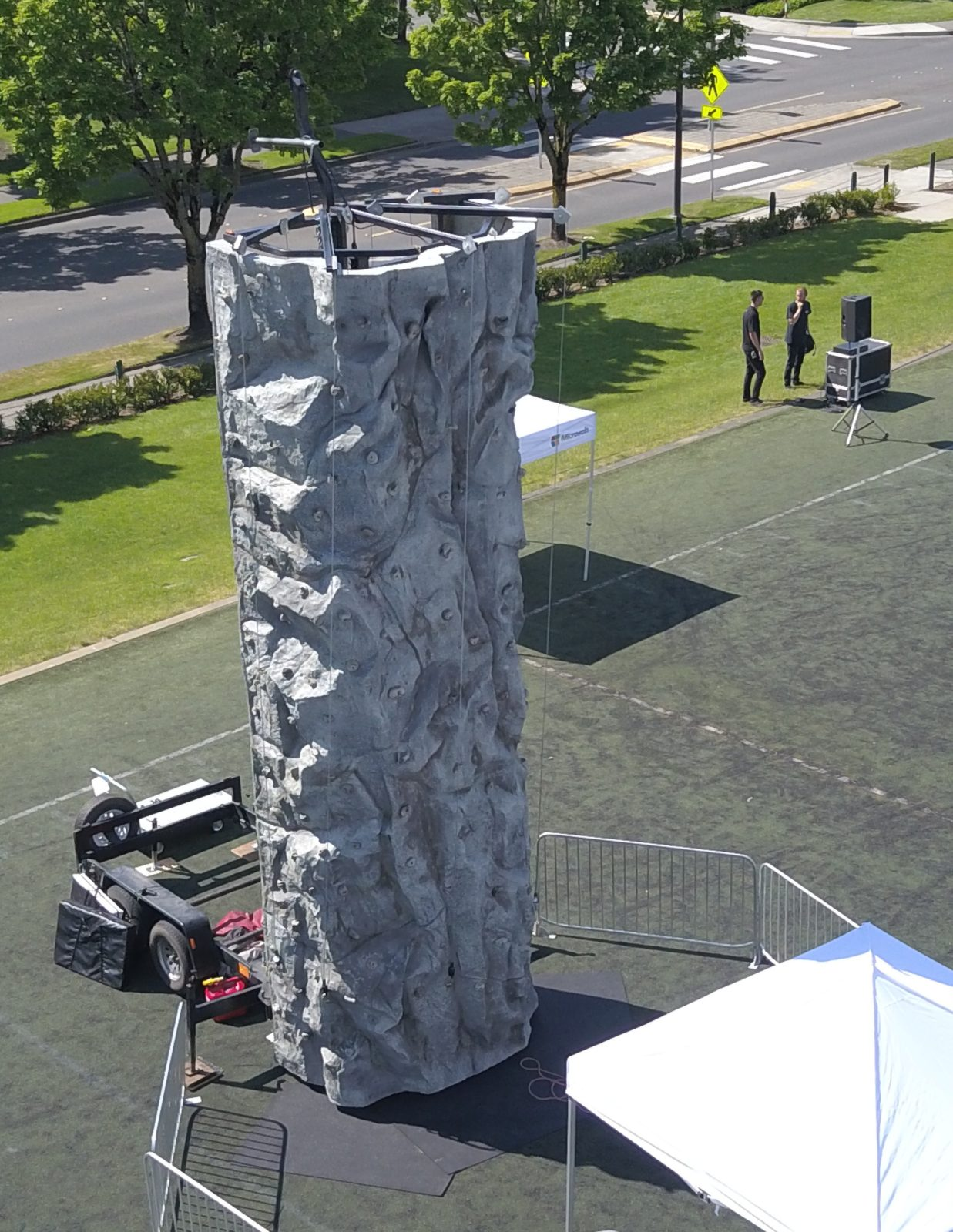 24′ Rock Wall (5 Station)