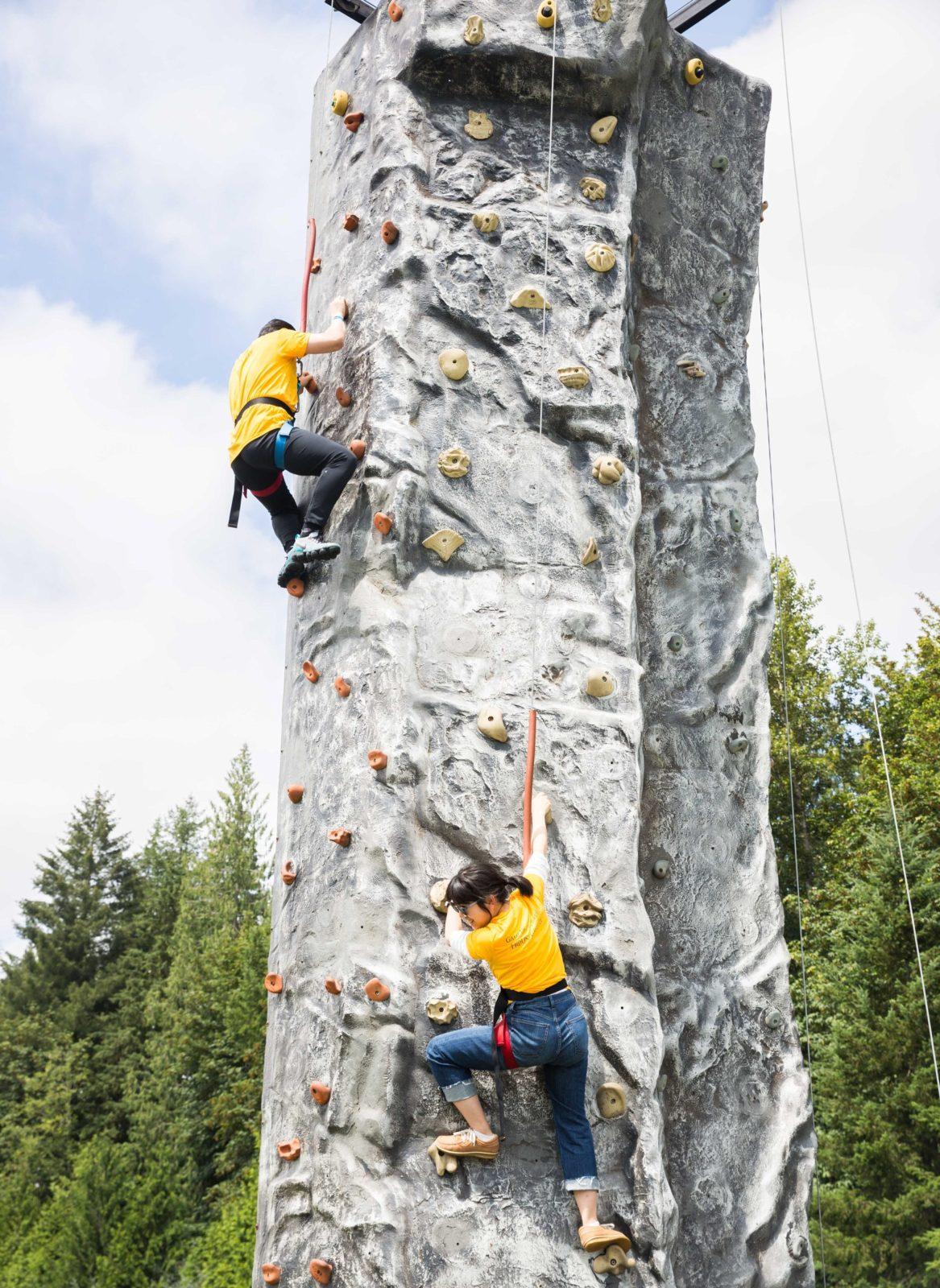 32' Rock Wall