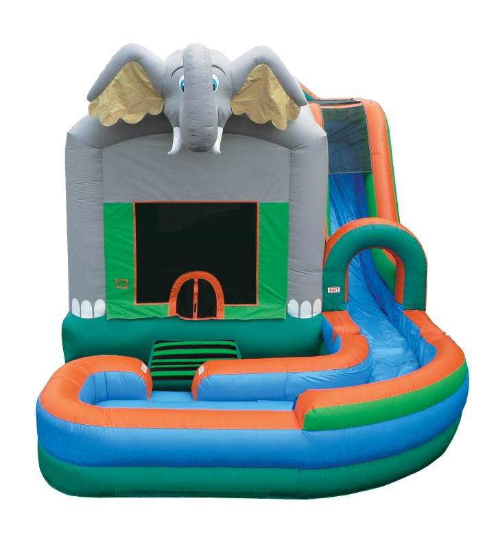 Jump 'N' Splash Jungle 4-in-1