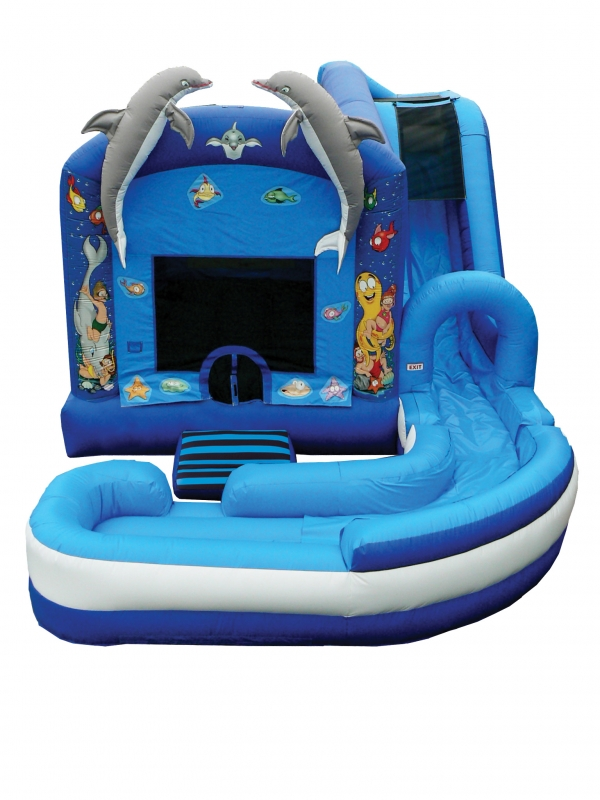 Jump 'N' Splash Under The Sea 4-in-1