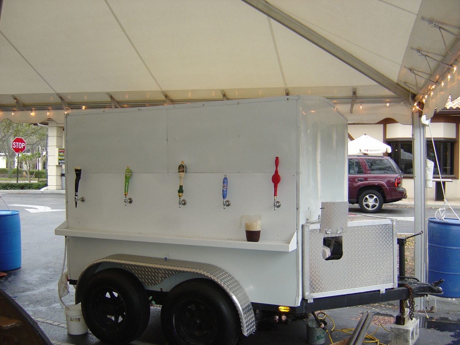 Refrigerated Beer Trailer