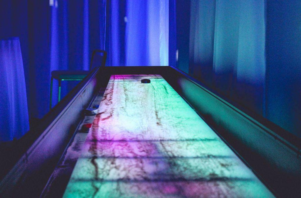 LED Shuffleboard Table Rental