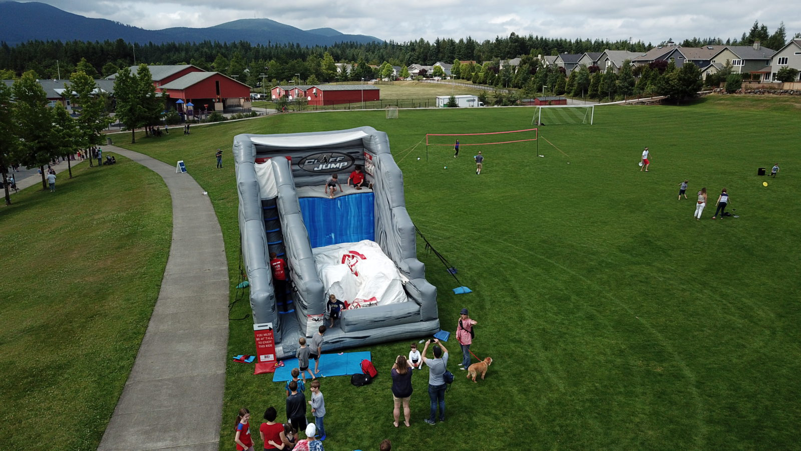 Cliff Jump Inflatable Game Rental