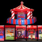 Five-Game Carnival Tent