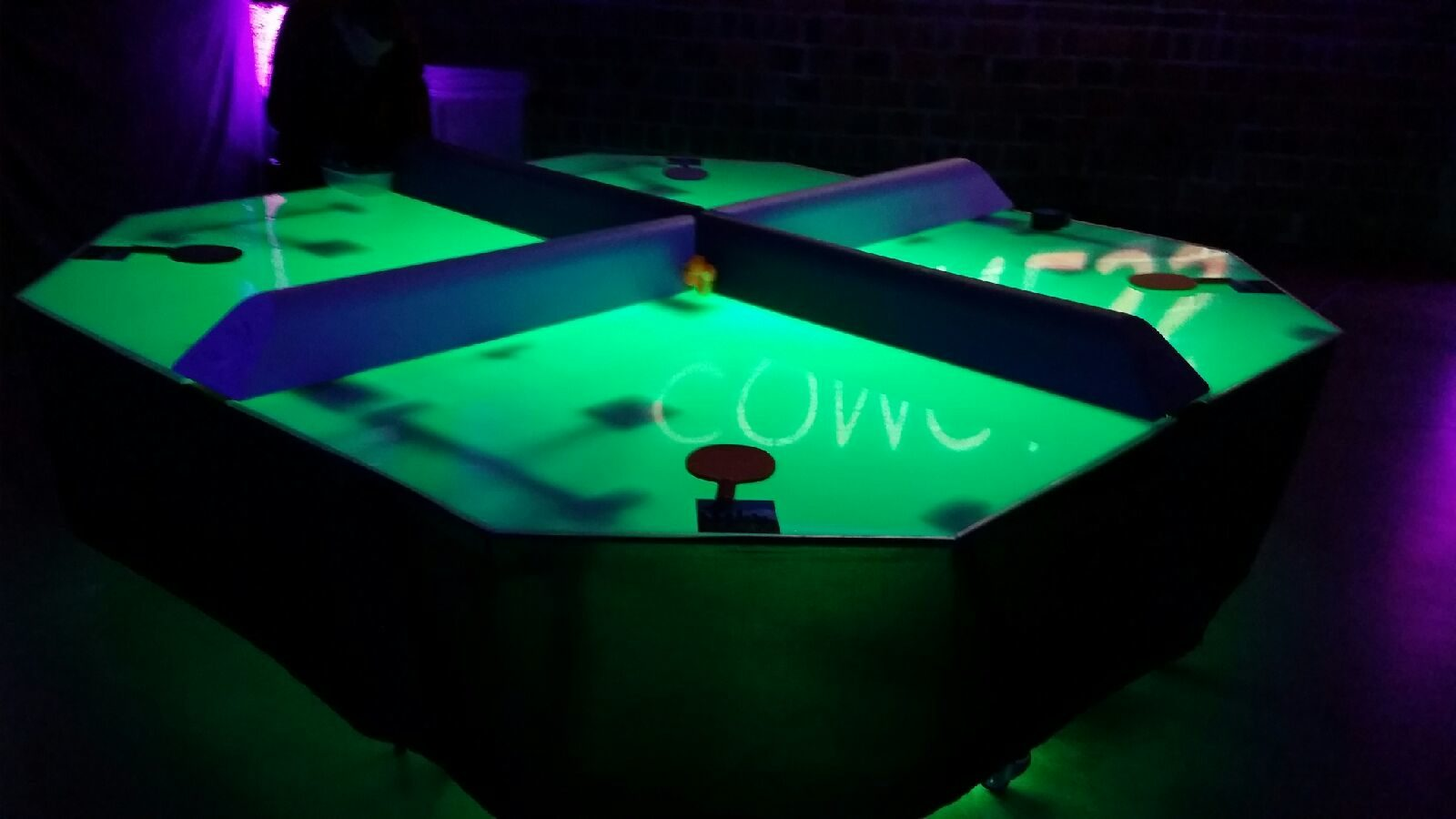 LED Poly Pong