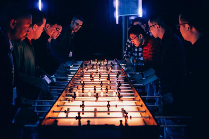 12' LED Foosball