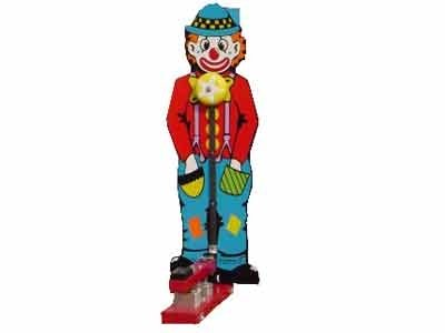 6′ Clown High Striker