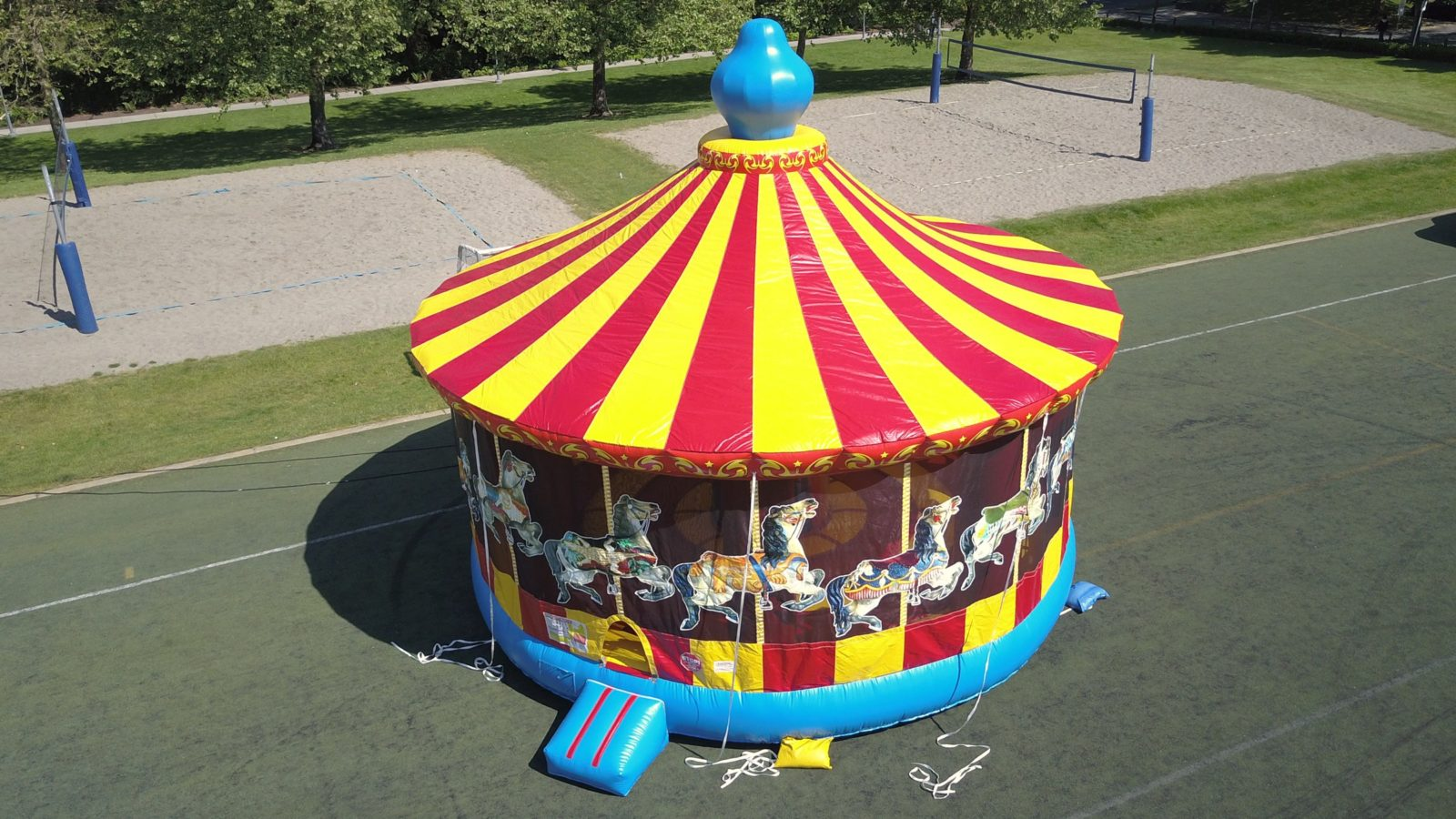 Carousel Bouncer for sale
