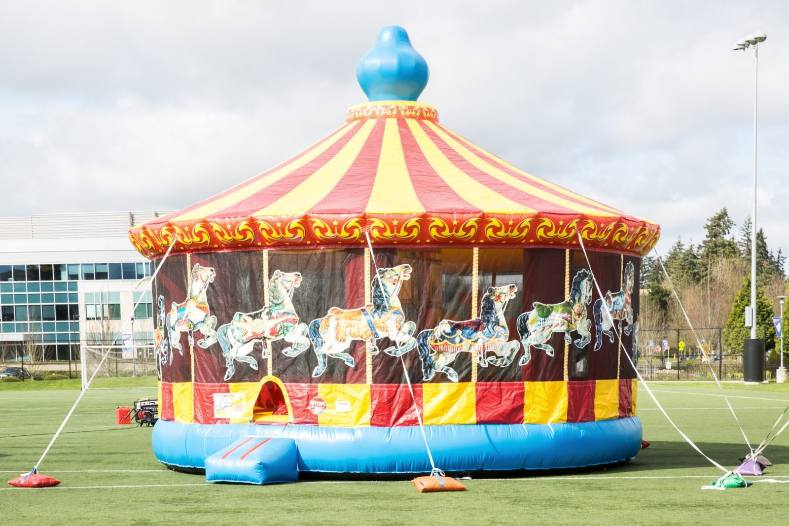 Carousel Bounce House rental