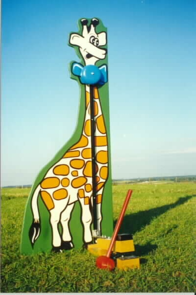 6′ Giraffe High Striker