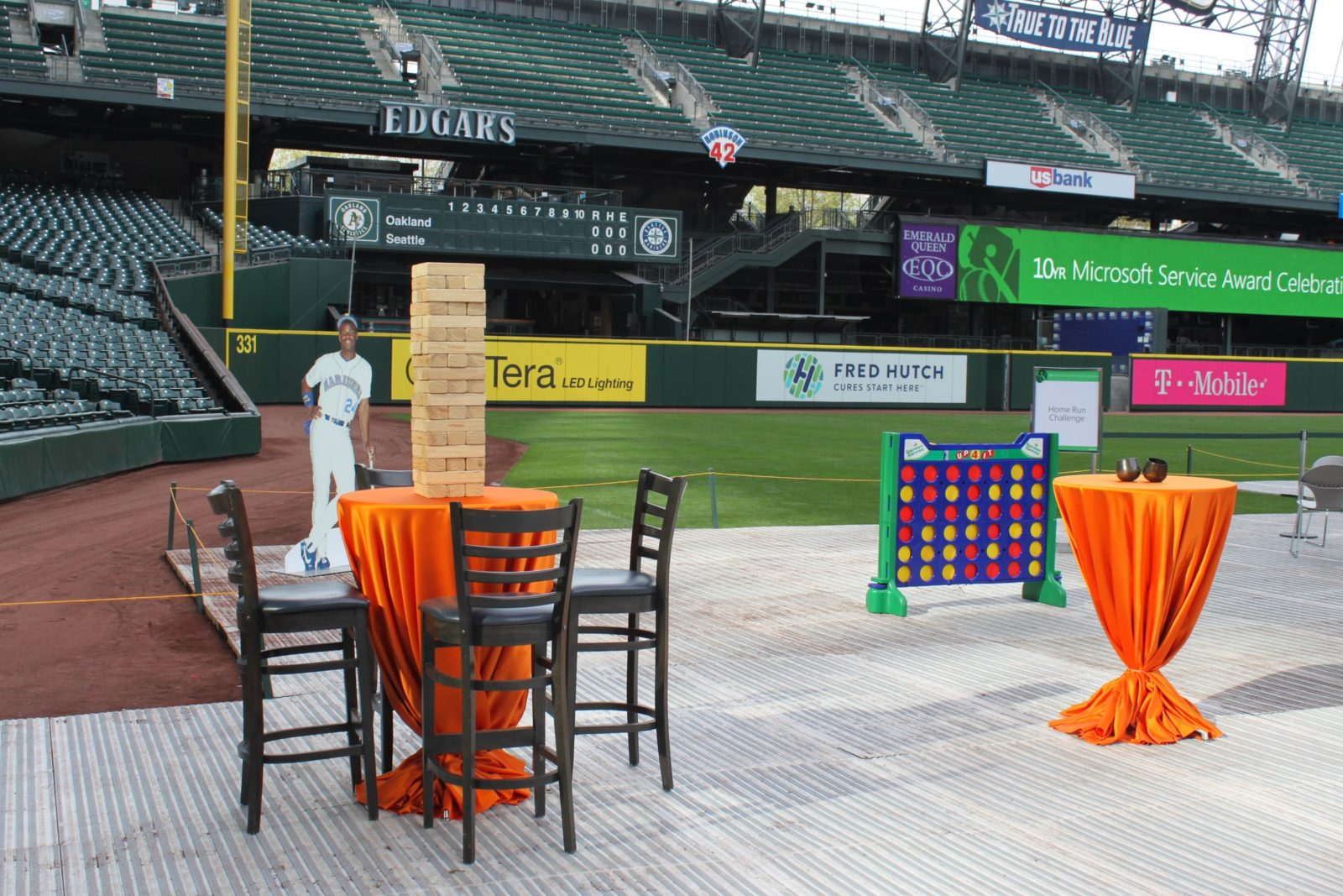 outdoor cocktail table rentals
