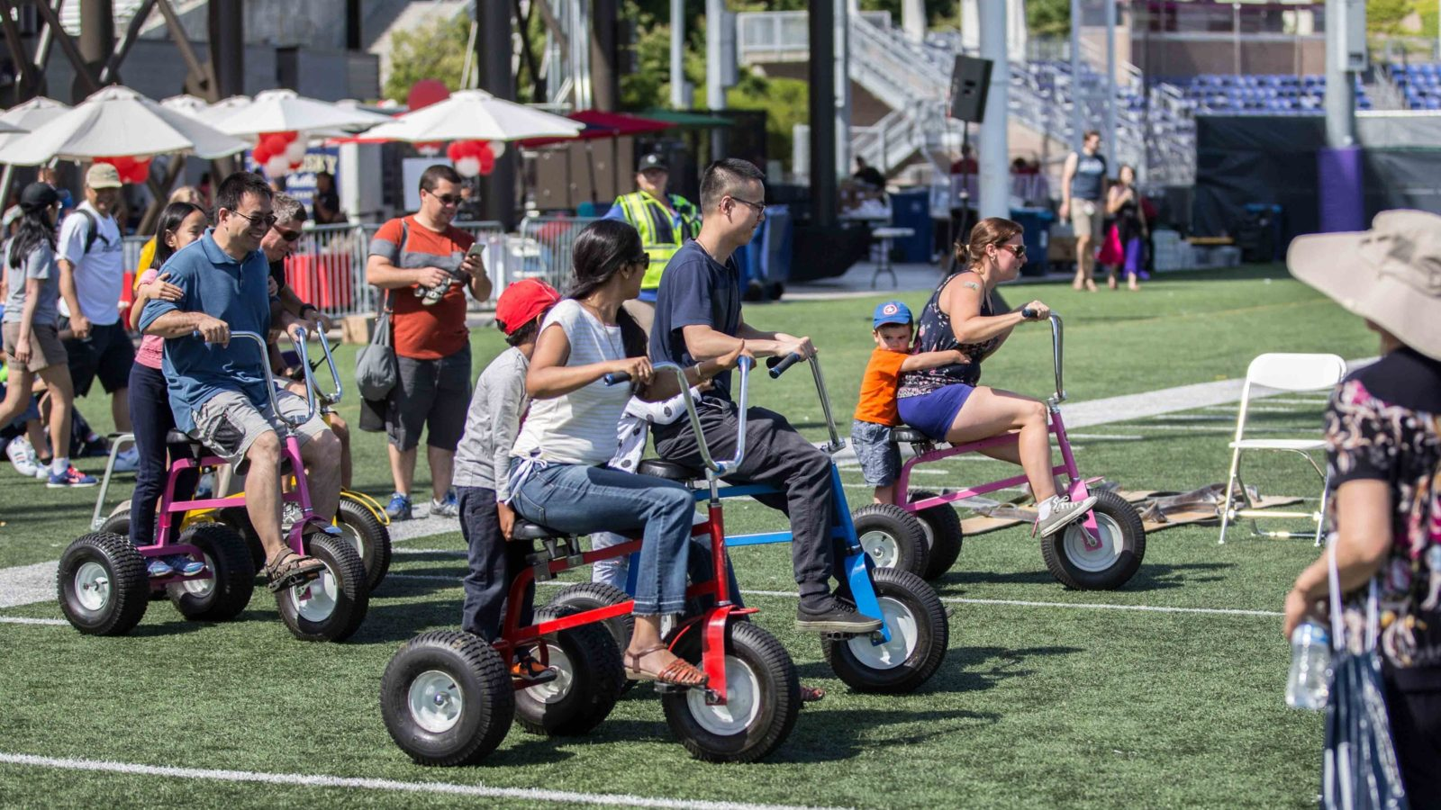 Rental Item of the Week: Giant Monster Tricycles