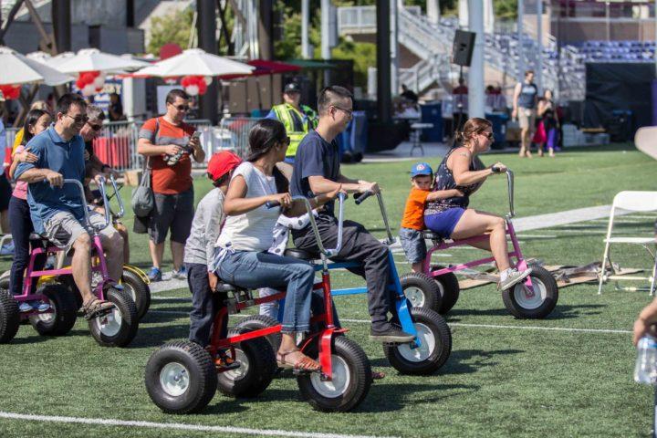 Rental Item of the Week: Giant Monster Tricycles