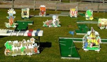 Themed Mini Golf Course