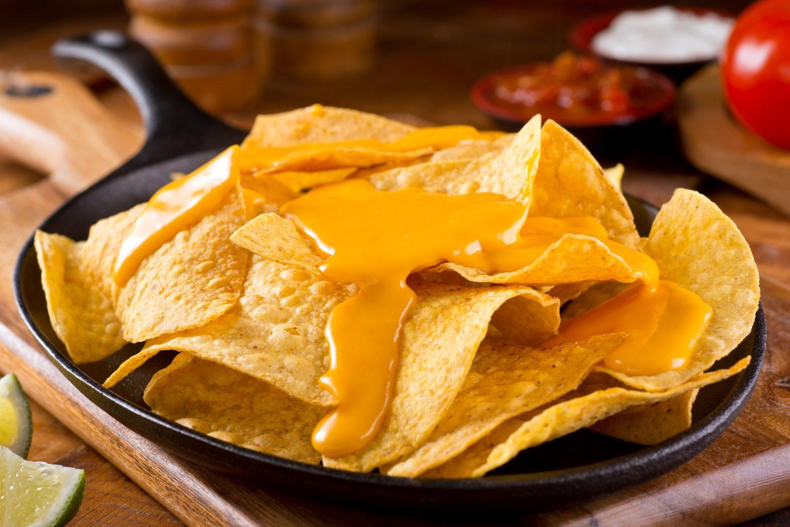 Cheese Sauce Nachos