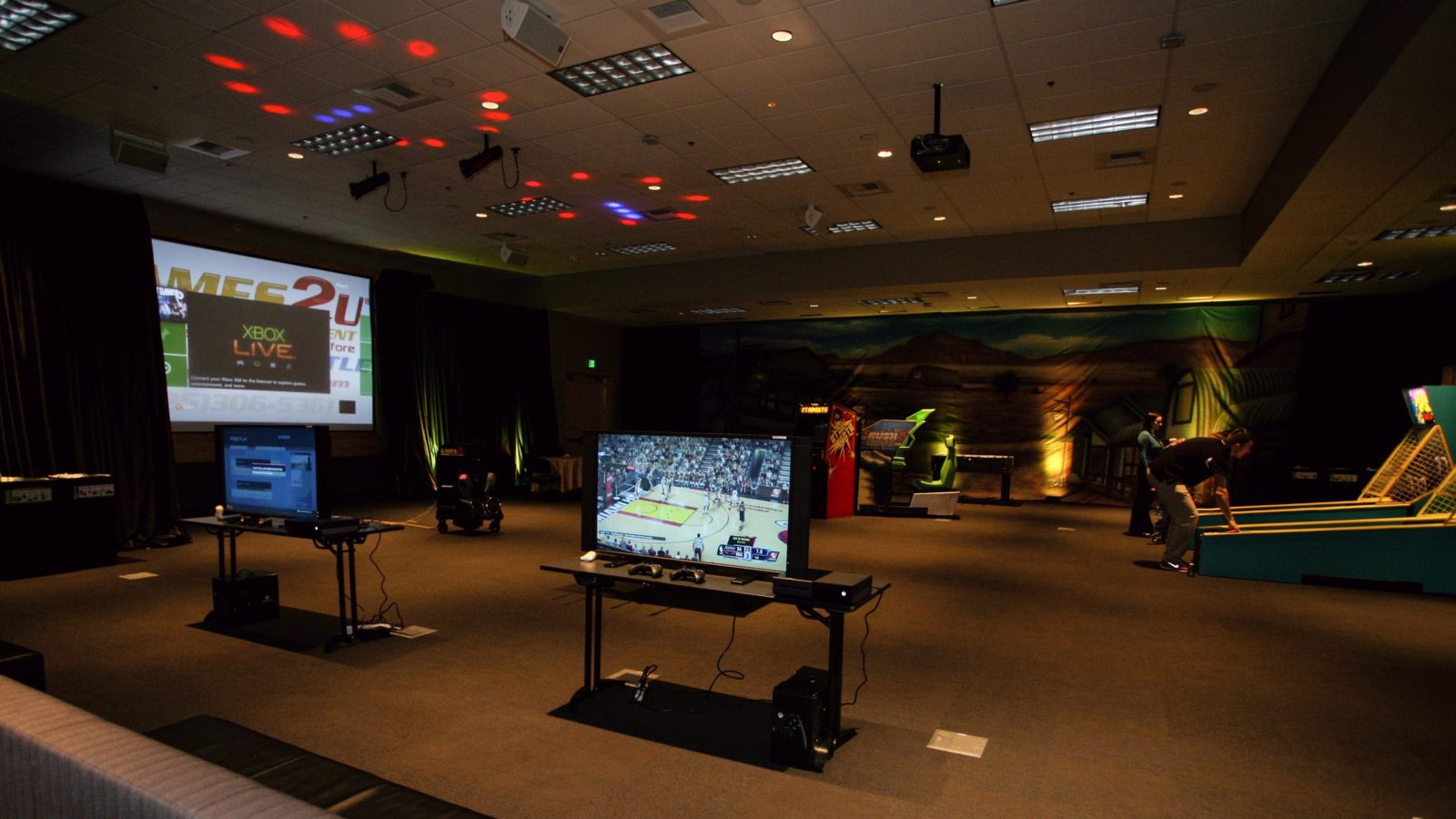 AV Projection Cart (Includes Xbox & Kinect)
