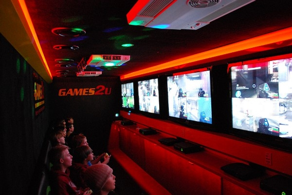 """Big Rig"" Video Game Theater"