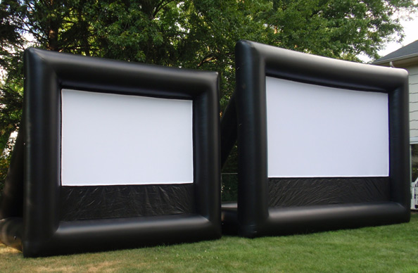 12' or 20' Outdoor Inflatable Movie Screen