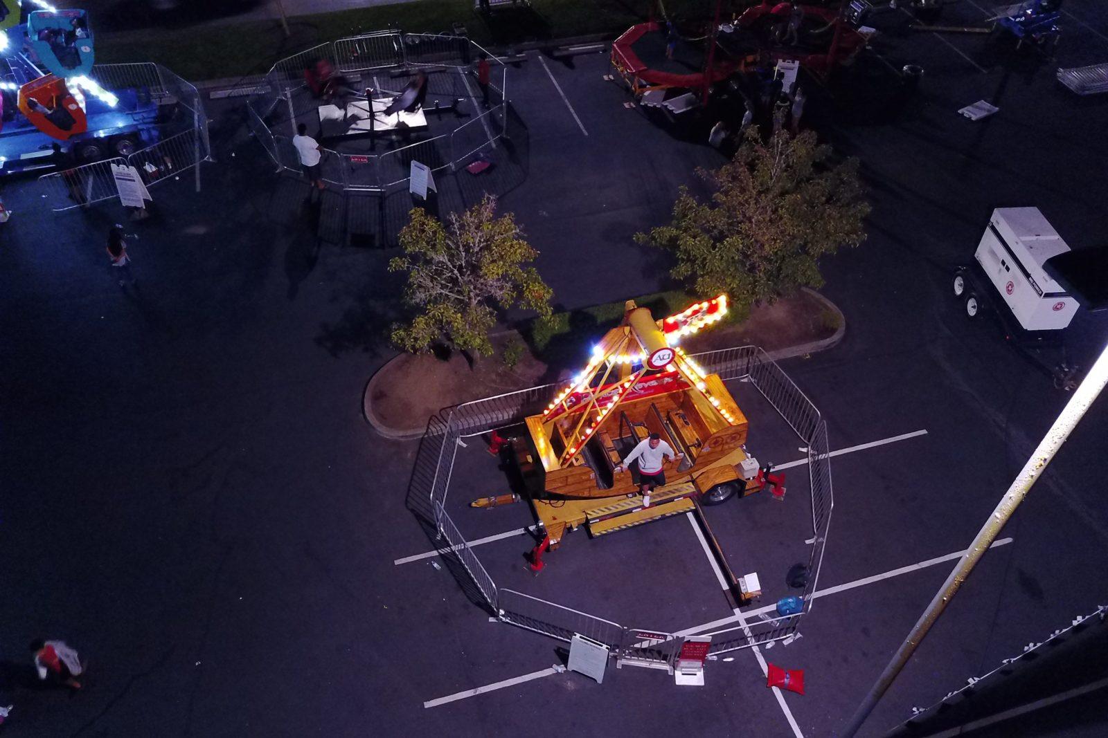 Event Pendulum Swing Ride