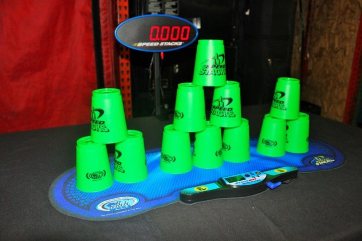 Cup Stacking Challenge Game Rental Timer National Event Pros
