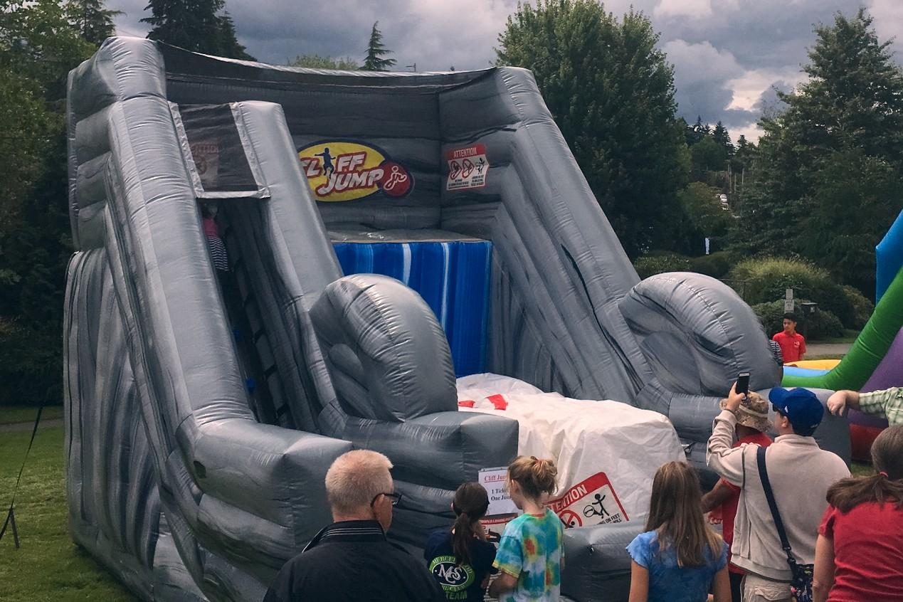 Cliff Jump Jr Kids Inflatable Game Rental
