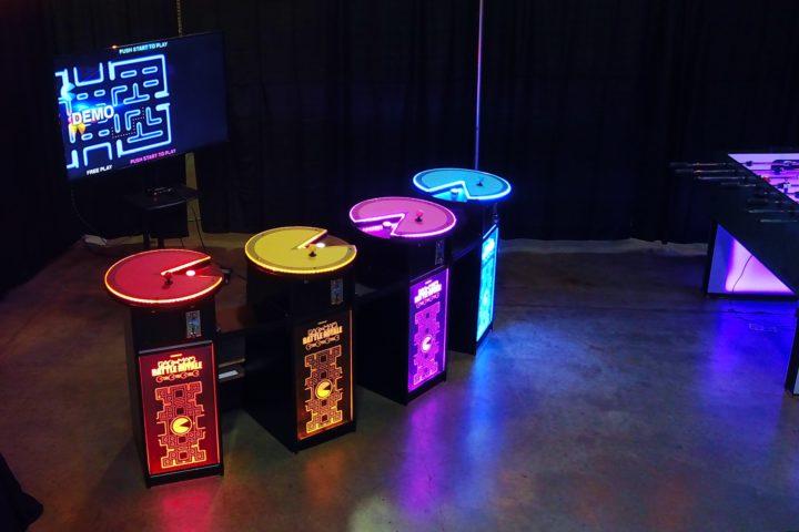 Pac Man Battle Royale 4 Player Arcade Game Rental