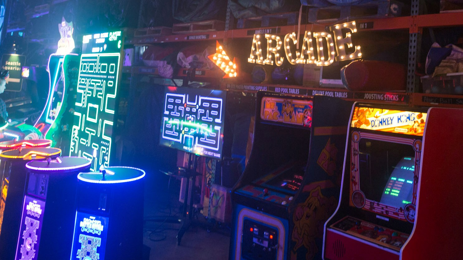 Classic Arcade Games