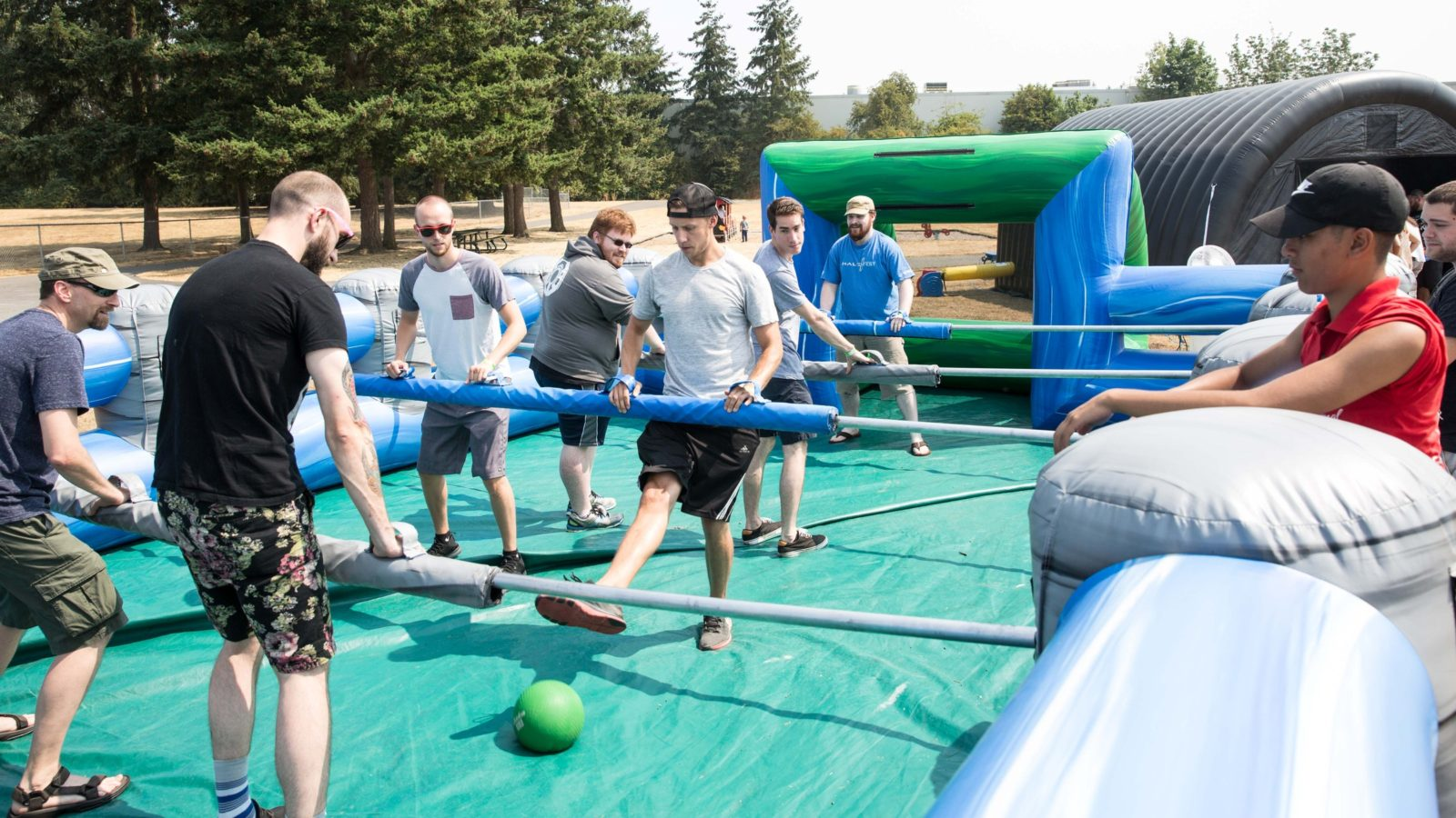 Human Foosball Giant Game Rental National Event Pros