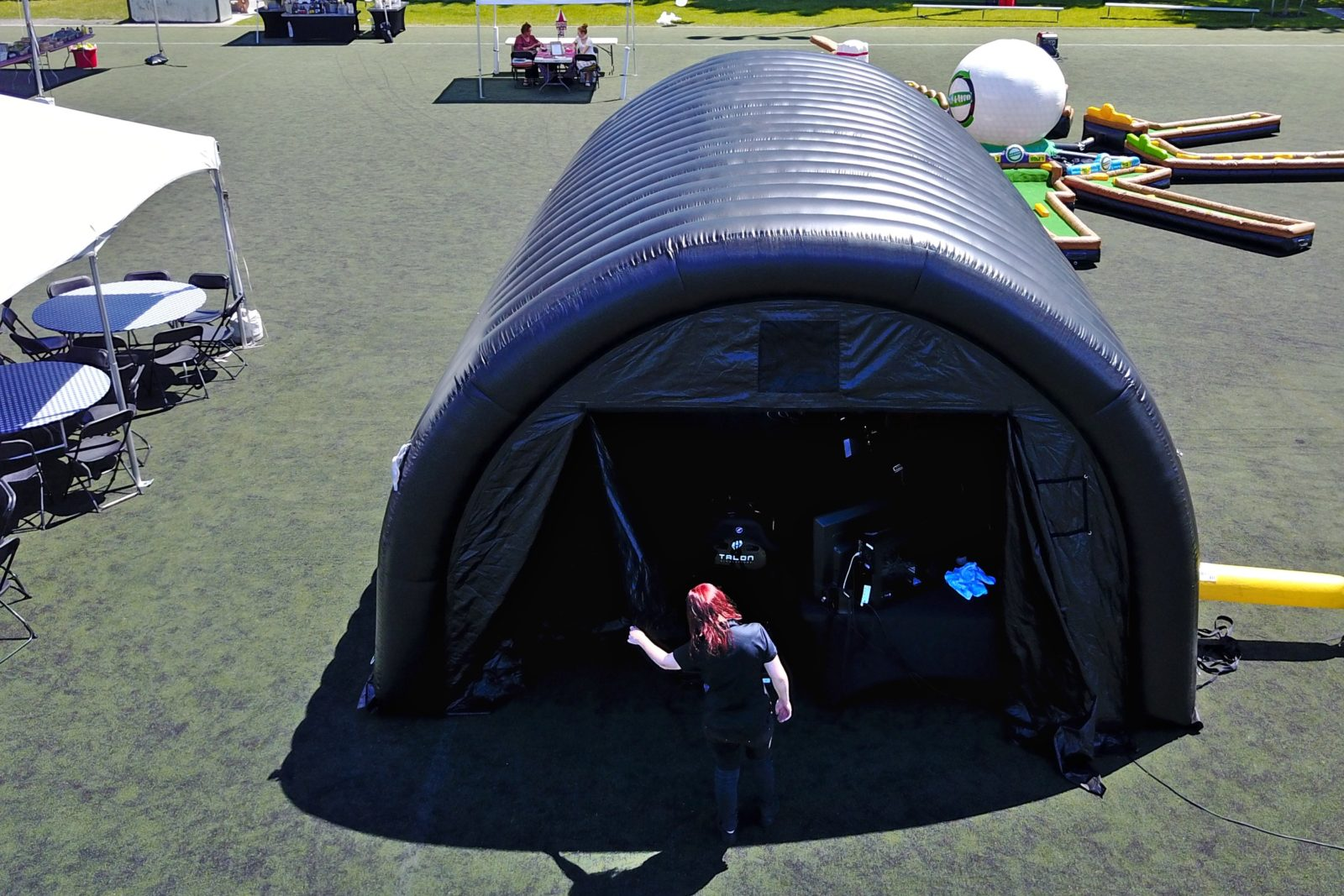 Gaming Room Blackout Tent