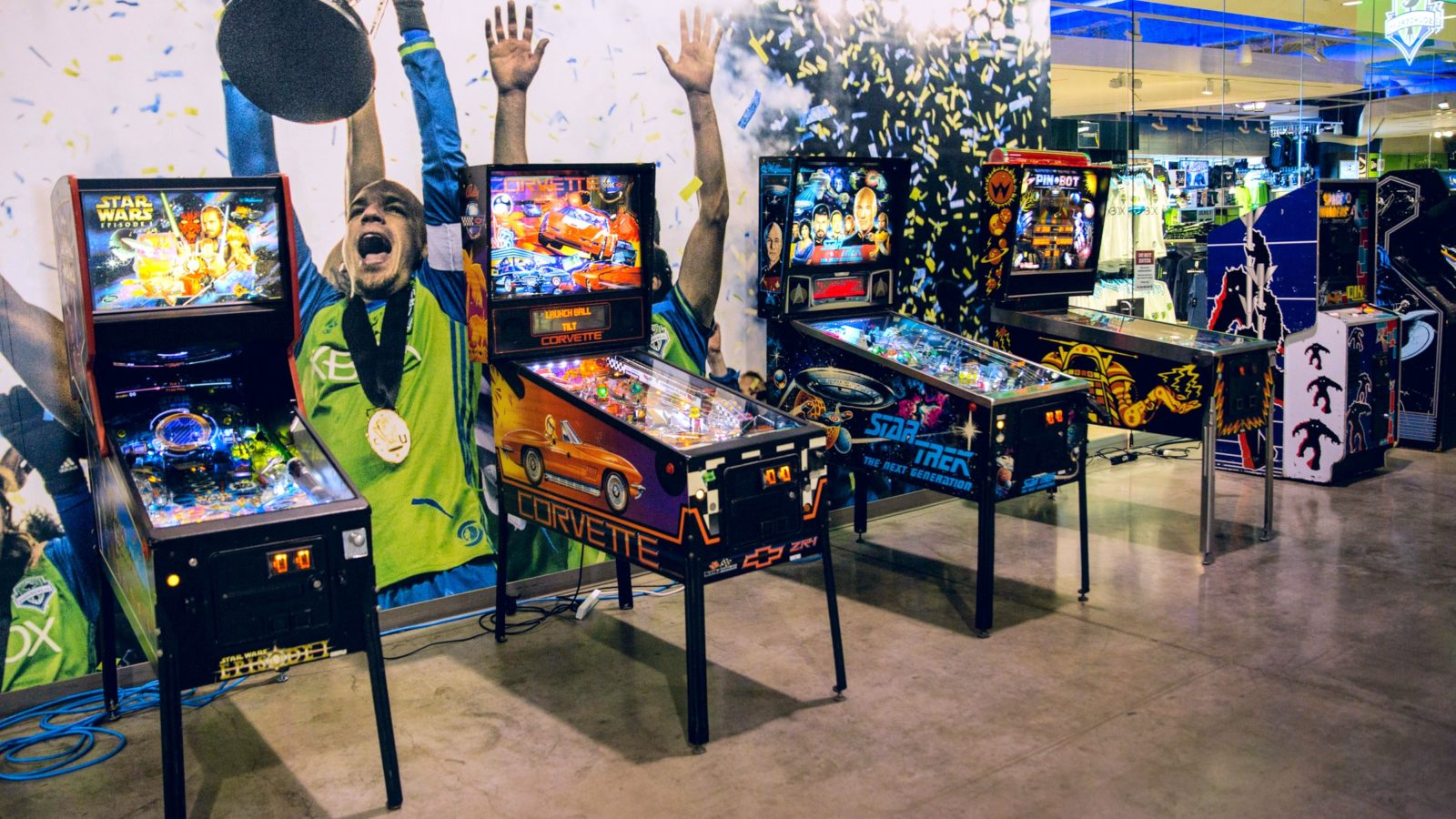 Classic Pinball Machine Rental — National Event Pros