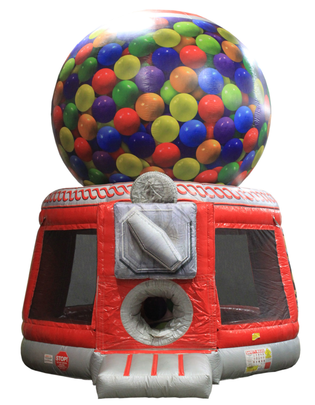 Gumball Machine Bounce House rental