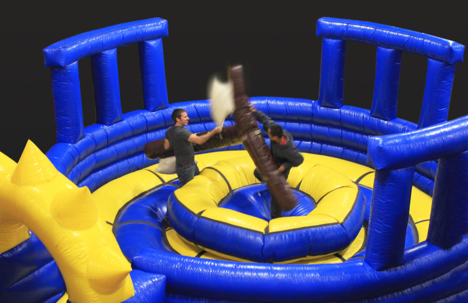 Gladiator Joust inflatable arena rental