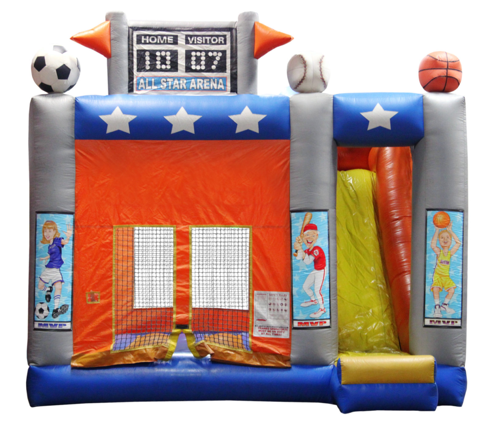 Sports Arena 4-in-1 Combo