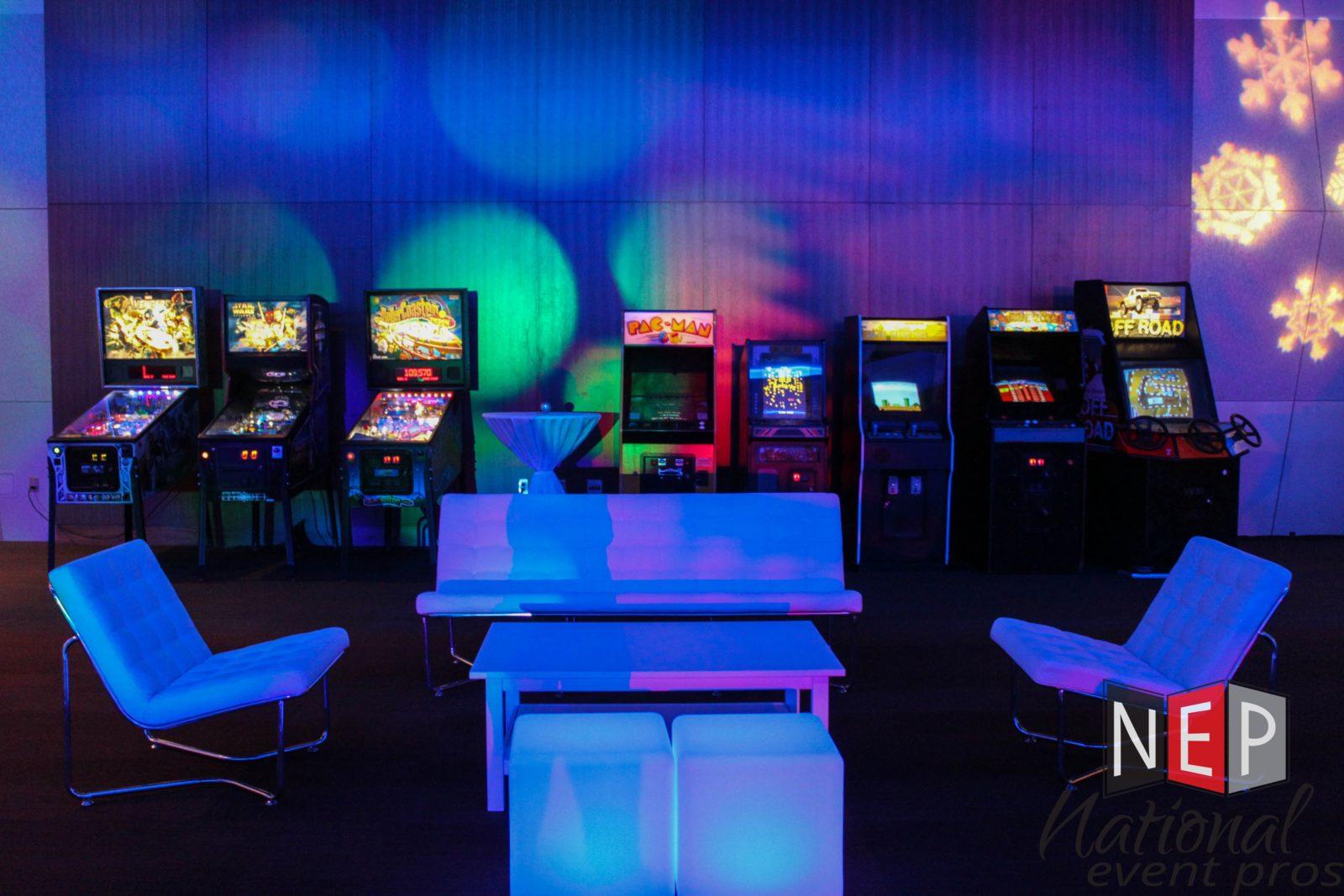 LED Arcade Rentals