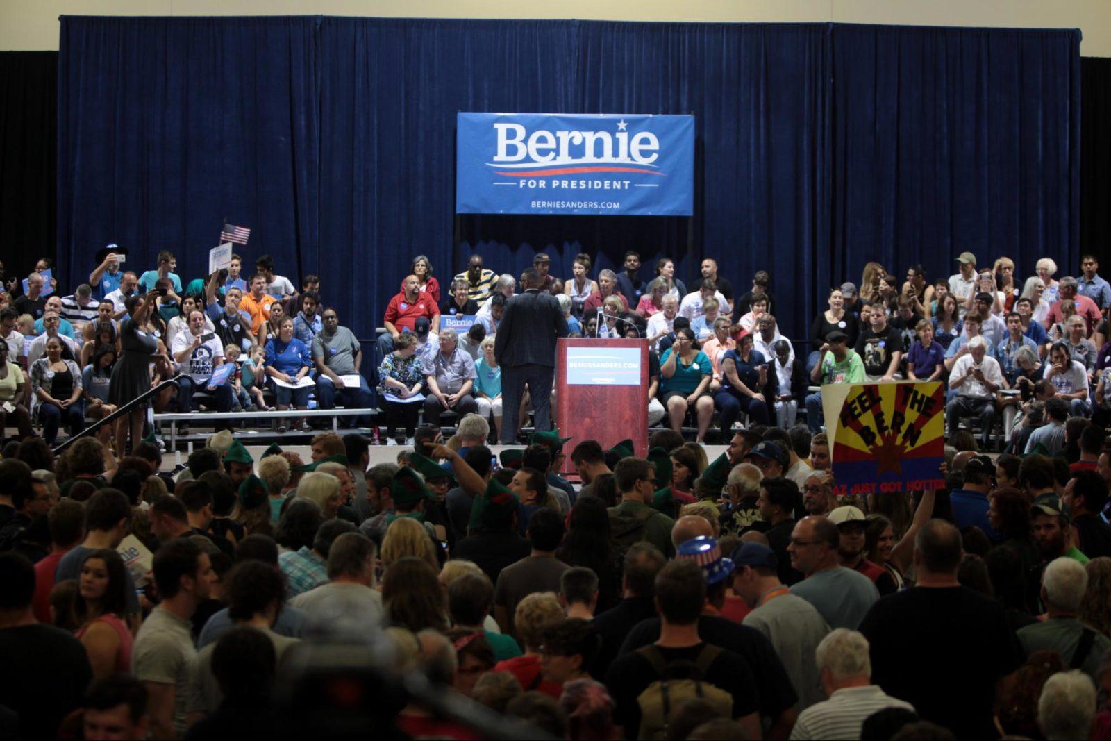 Bernie Sanders presidential campaign event