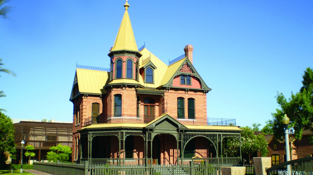 Rosson House at Historic Heritage Square event venue in Phoenix