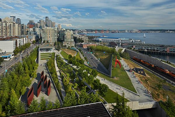Olympic Sculpture Park event venue in Seattle