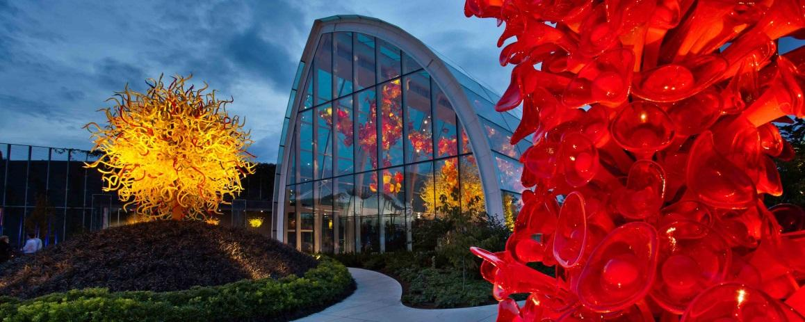 Chihuly Museum event venue in Seattle