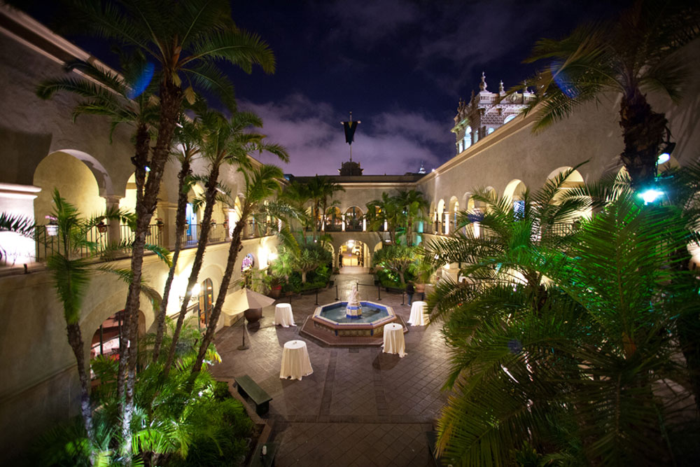 The Prado at Balboa Park event venue in San Diego