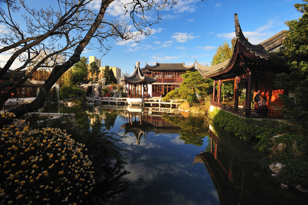Lan Su Chinese Garden event venue in Portland