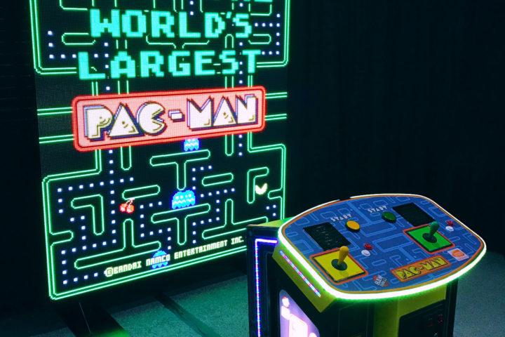 Pac Man Machine >> World's Largest Pac-Man Giant Arcade Game Rental ...